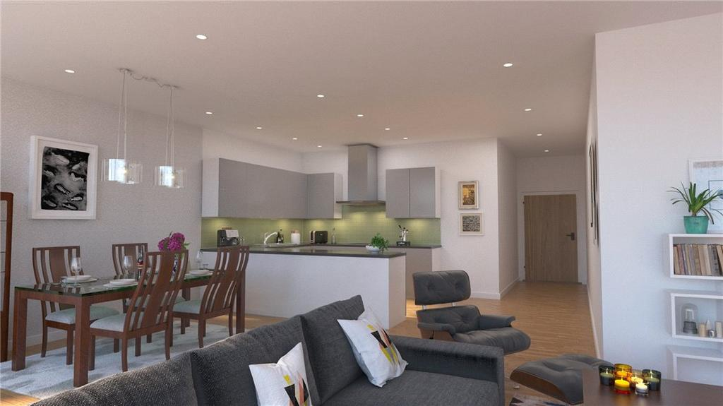 2 Bedrooms Flat for sale in Apartment 14, 1620 The Residences, Cliff Road, Plymouth, PL1