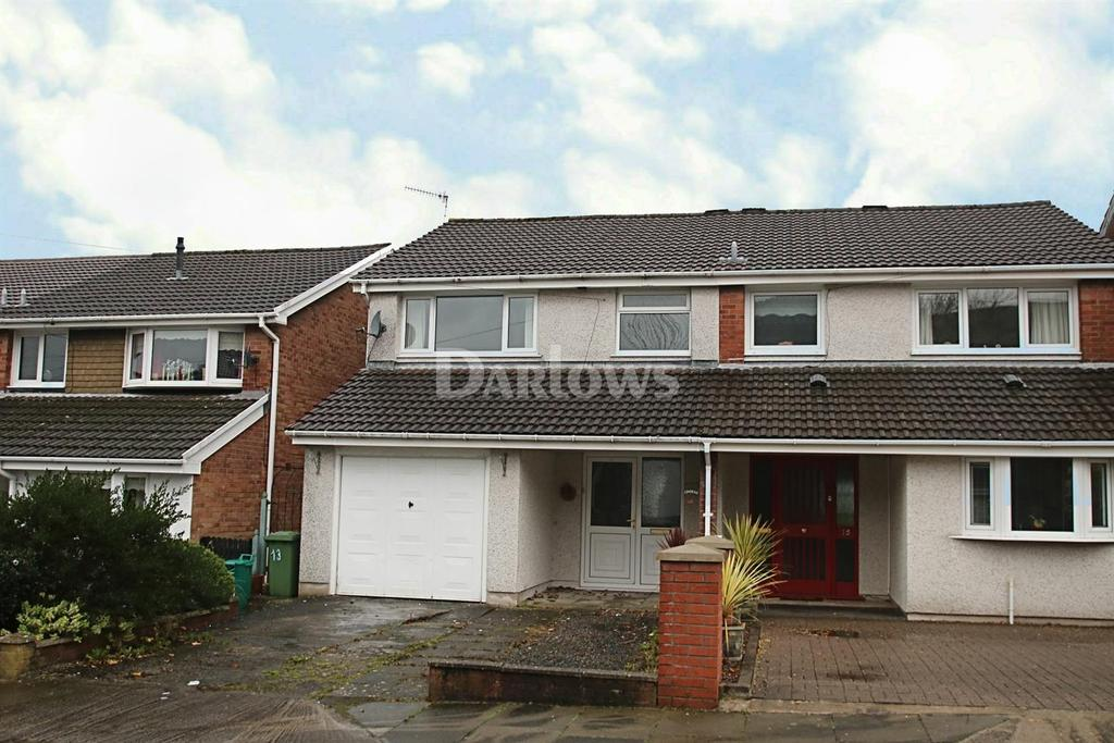 3 Bedrooms Semi Detached House for sale in Pinecroft Avenue Aberdare