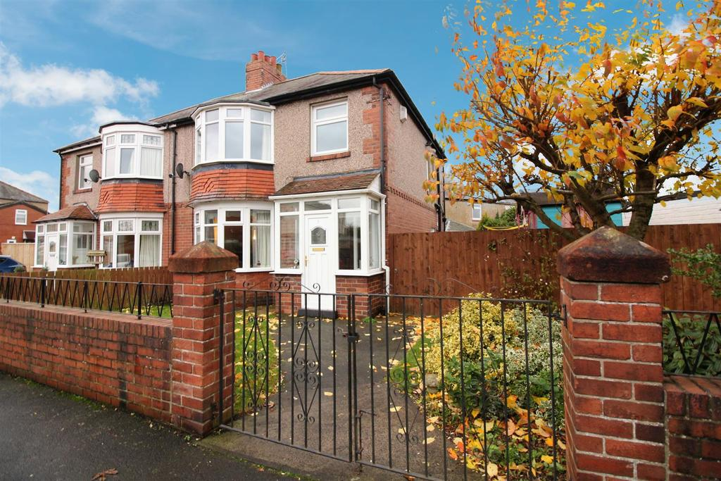 3 Bedrooms Semi Detached House for sale in Meadowfield Avenue, Newcastle Upon Tyne