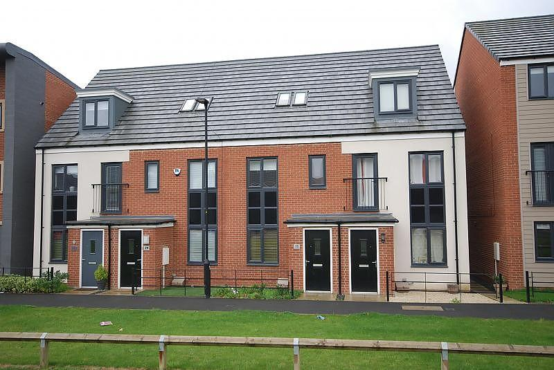 3 Bedrooms Terraced House for sale in Elmwood Park Court, Great North Park
