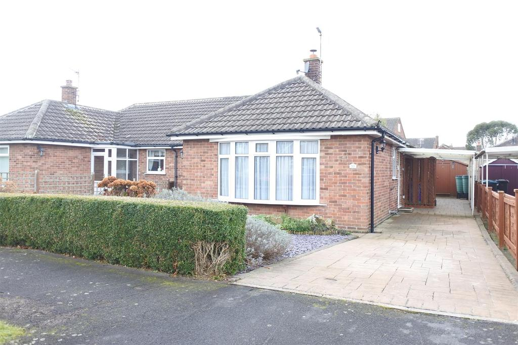 3 Bedrooms Semi Detached Bungalow for sale in Cleveland Drive, Northallerton