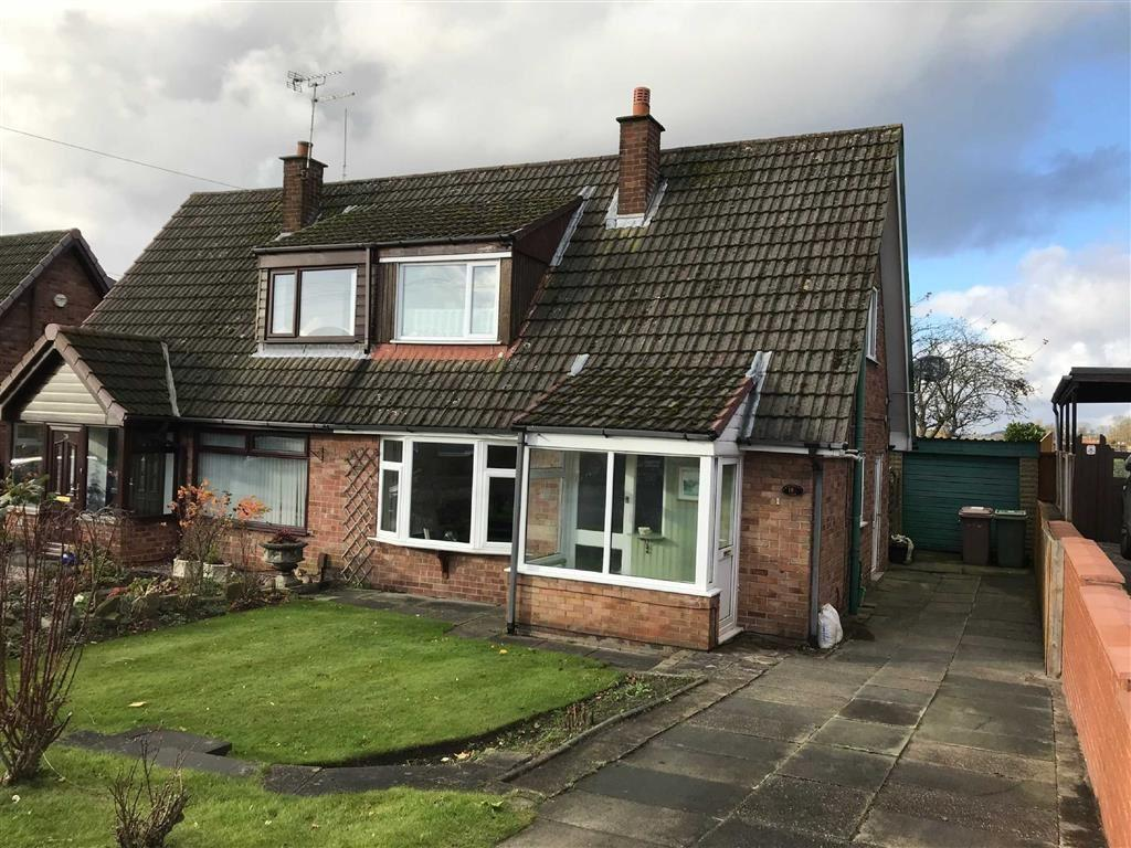 2 Bedrooms Semi Detached House for sale in Knowsley View, Rainford, St Helens, WA11