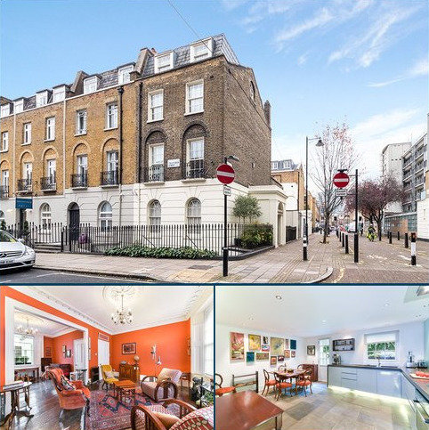 4 bedroom terraced house for sale - Crestfield Street, London, WC1H