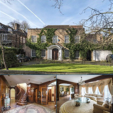 6 bedroom detached house for sale - Avenue Road, St John's Wood, London, NW8