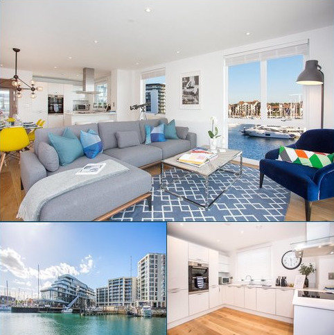 3 bedroom flat for sale - Alexandra Wharf, 2 Maritime Walk, Ocean Village, Southampton, SO14