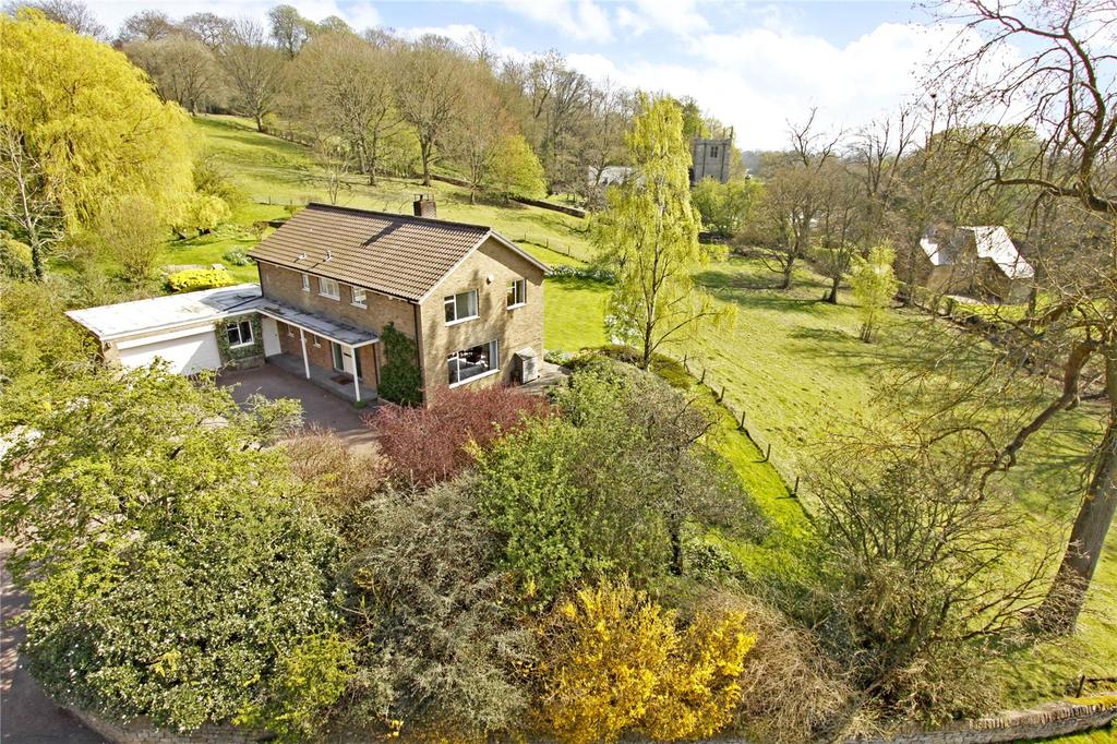 5 Bedrooms Detached House for sale in Burton Hill House, Burton, Lincoln, LN1