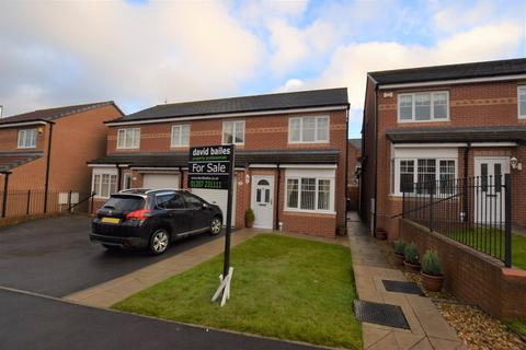 3 bedroom semi-detached house for sale - Cloverhill Court, Craghead, Stanley