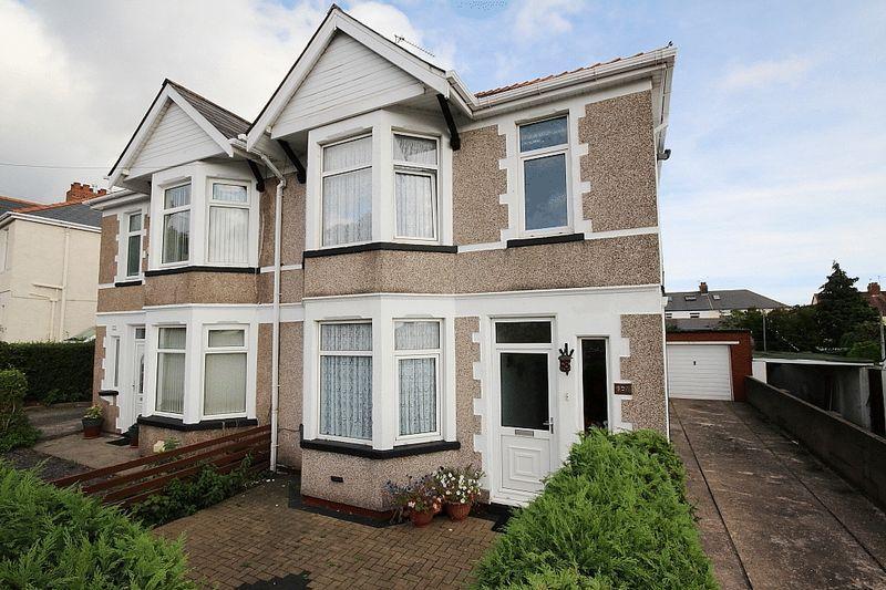 3 Bedrooms Semi Detached House for sale in Newport Road, Rumney