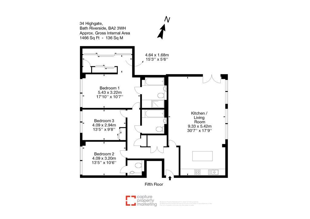 Floorplan: 34 Highgate