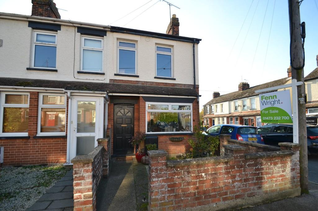 3 Bedrooms End Of Terrace House for sale in Bostock Road, Ipswich, IP2 8LP