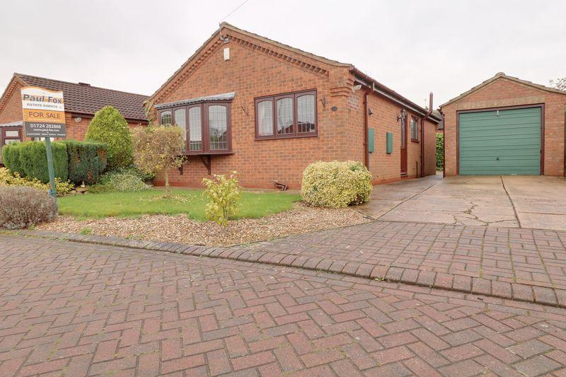 2 Bedrooms Detached Bungalow for sale in Witham Drive, Burton upon Stather