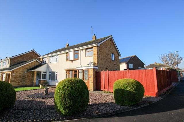 3 Bedrooms Semi Detached House for sale in Ruborough Road, Bridgwater