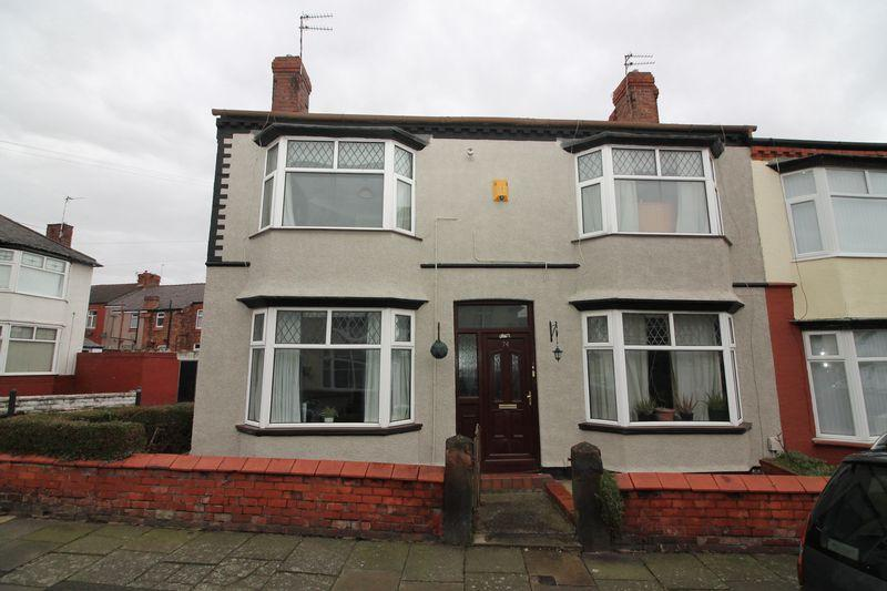 3 Bedrooms End Of Terrace House for sale in Parkhill Road, Prenton