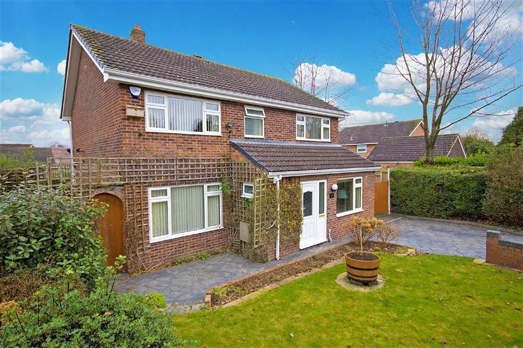 4 Bedrooms Detached House for sale in Primrose Drive, Sutton Park, Shrewsbury, Shropshire