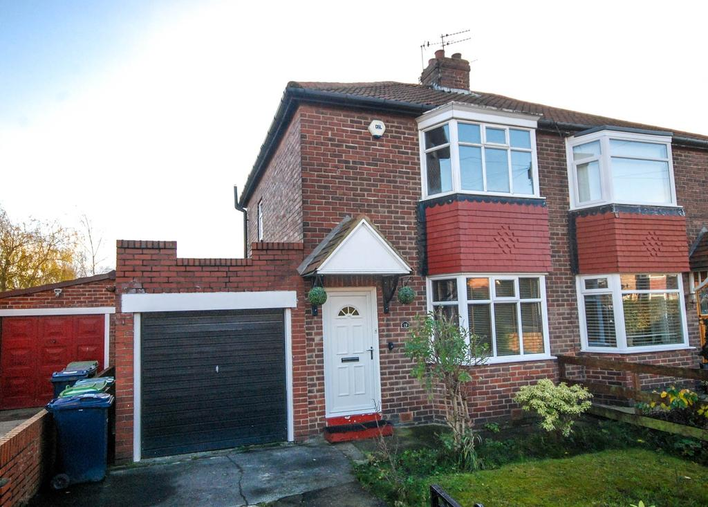 2 Bedrooms Semi Detached House for sale in Crawley Avenue, Hebburn