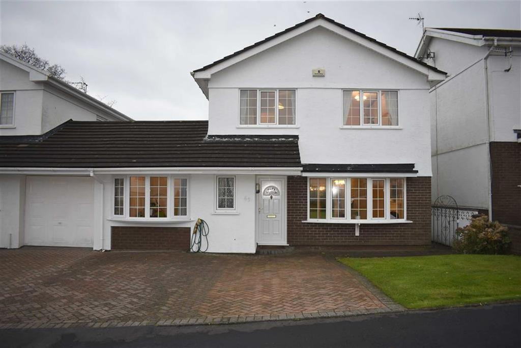4 Bedrooms Link Detached House for sale in St Andrews Close, Mayals, Mayals Swansea