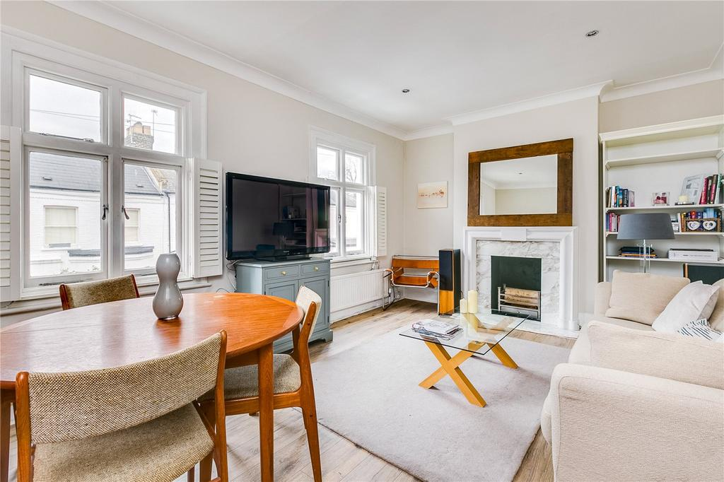 2 Bedrooms Flat for sale in St Hilda's Road, Barnes, London