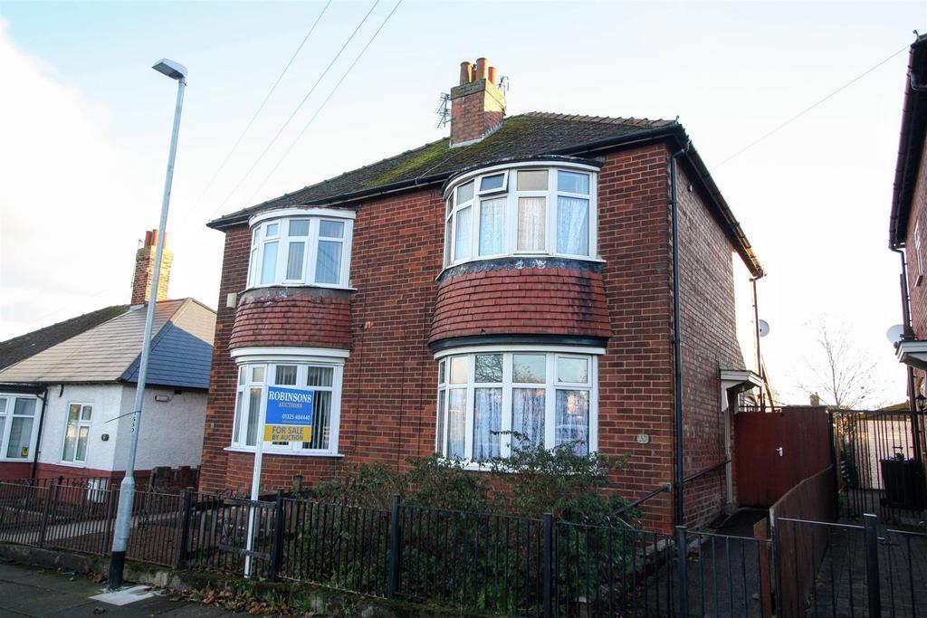2 Bedrooms Semi Detached House for sale in Hunstanworth Road, Darlington