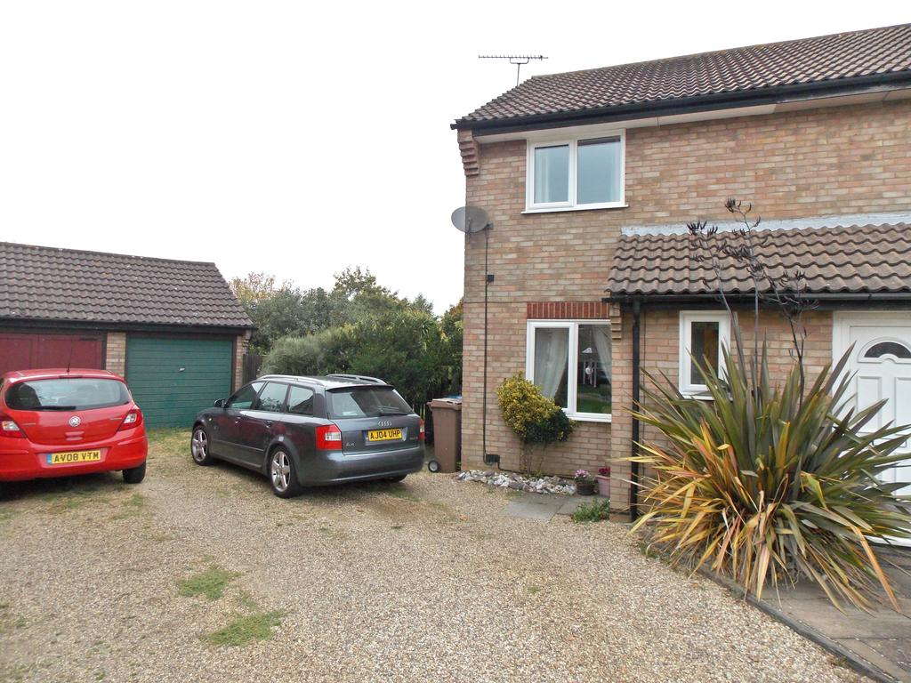 2 Bedrooms Semi Detached House for sale in Thurston Court, Felixstowe IP11