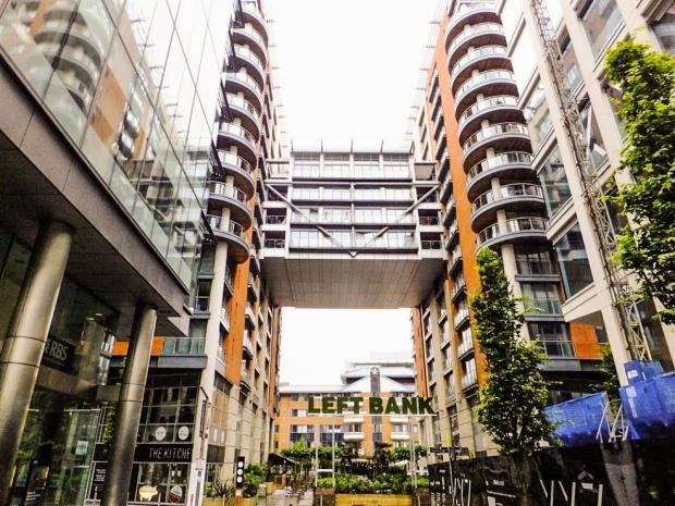 2 Bedrooms Apartment Flat for sale in Leftbank, Spinningfields, Manchester, M3 3AG