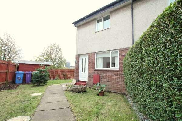 2 Bedrooms End Of Terrace House for sale in 94 Ardargie Drive, Carmyle, Glasgow, G32 8NT