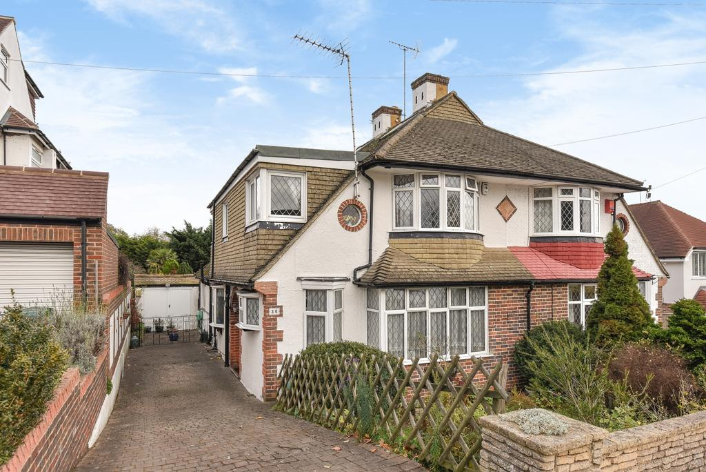 4 Bedrooms Semi Detached House for sale in Corkscrew Hill West Wickham BR4