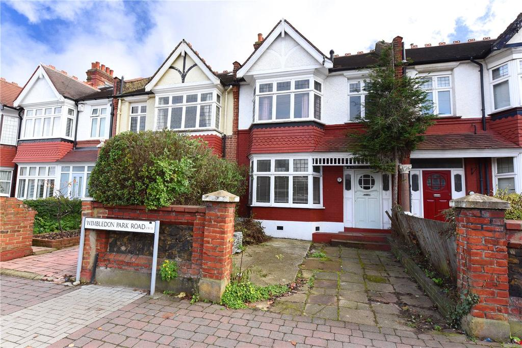 3 Bedrooms Terraced House for sale in Wimbledon Park Road, London, SW18