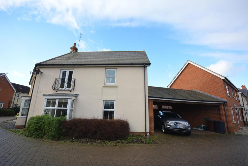 2 Bedrooms Semi Detached House for sale in Eglinton Drive, Chancellor Park, Chelmsford, Essex, CM2