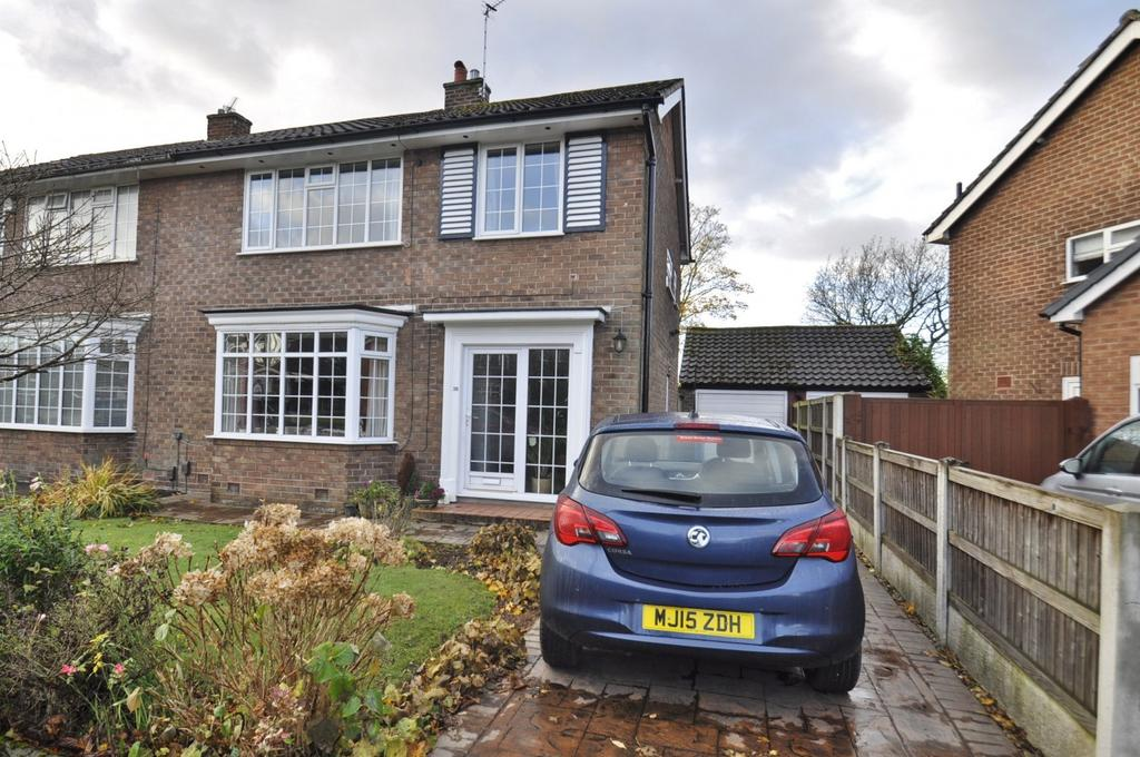 3 Bedrooms Semi Detached House for sale in Syddal Green, Bramhall