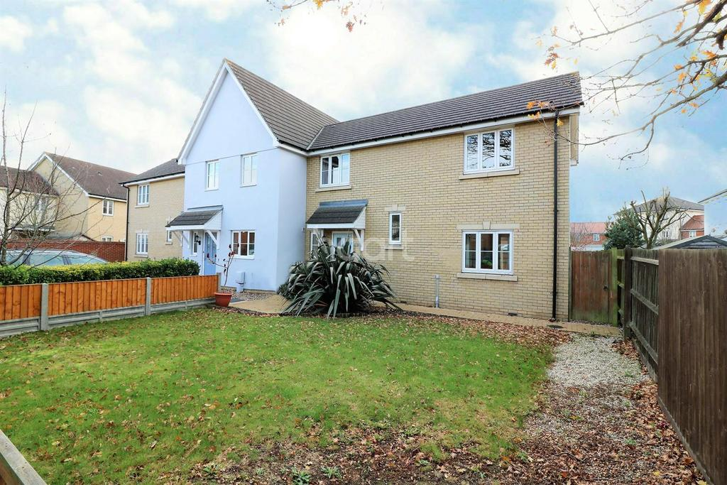 3 Bedrooms End Of Terrace House for sale in Gratian Close