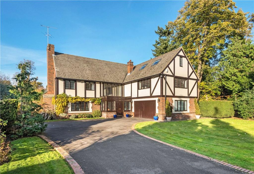 6 Bedrooms Detached House for sale in Beechmeads, Leigh Hill Road, Cobham, Surrey, KT11