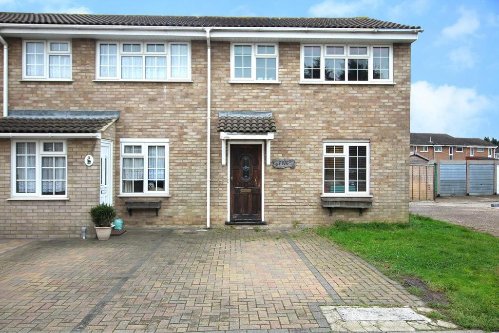 3 Bedrooms End Of Terrace House for sale in Heather Court, Chelmsford, CM1
