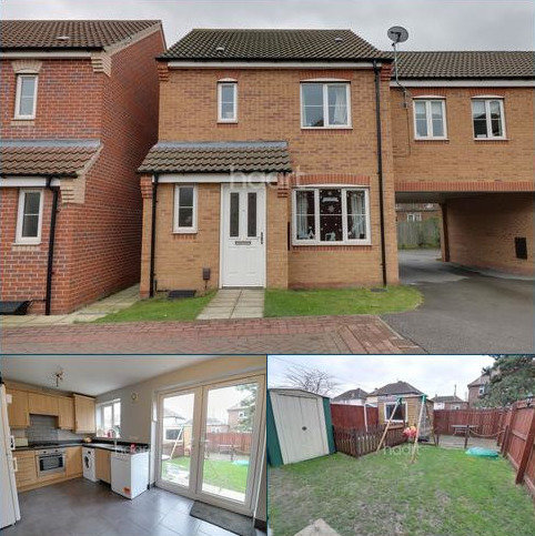 3 bedroom end of terrace house for sale - Aidans Close, Clay Lane, Doncaster