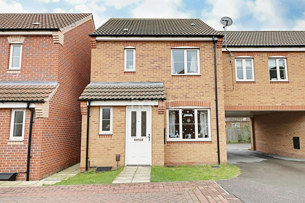 3 Bedrooms End Of Terrace House for sale in Aidans Close, Clay Lane, Doncaster