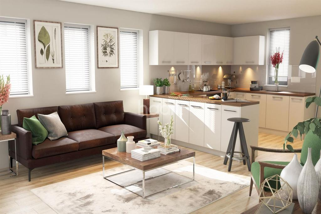 1 Bedroom Flat for sale in Plot The Library, Rossington