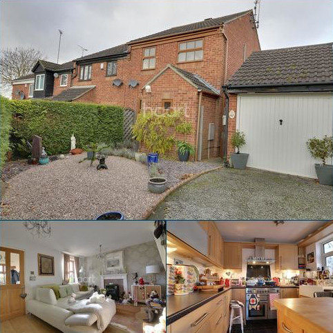 3 bedroom end of terrace house for sale - REDLAND DRIVE NORTHAMPTON