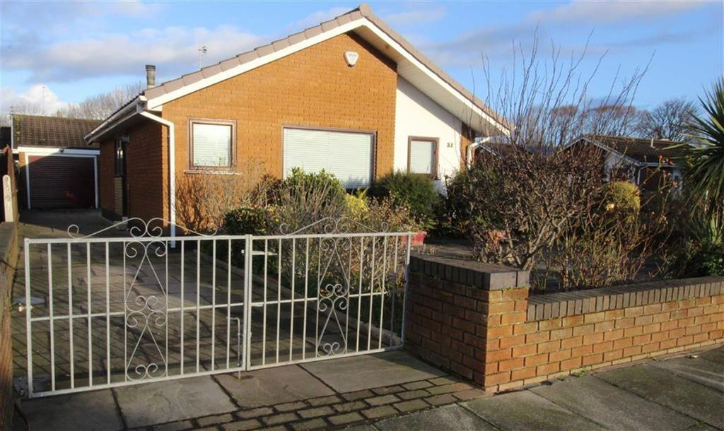 2 Bedrooms Detached Bungalow for sale in Ayrton Avenue, Blackpool, Lancashire