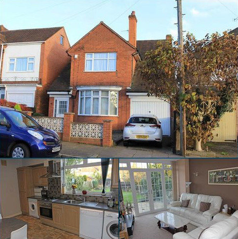 3 bedroom detached house for sale - Byway Road, Evington, Leicester