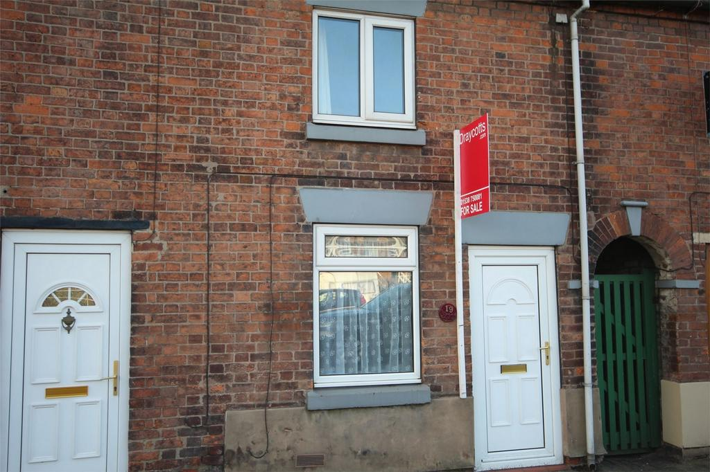 2 Bedrooms Terraced House for sale in Cheadle Road, Tean, Staffordshire