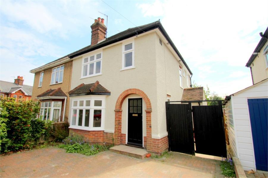 4 Bedrooms Semi Detached House for sale in Audley Road, Off Maldon Road, Colchester, Essex