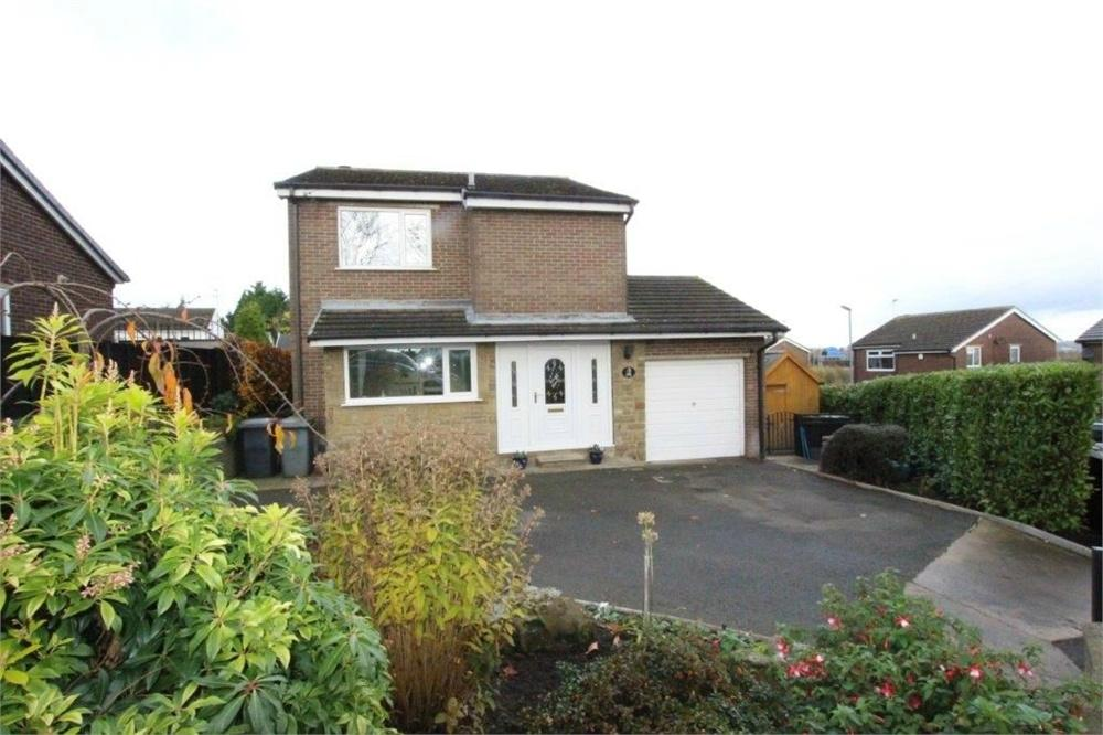 3 Bedrooms Detached House for sale in Brier Hill Close, HARTSHEAD MOOR, West Yorkshire