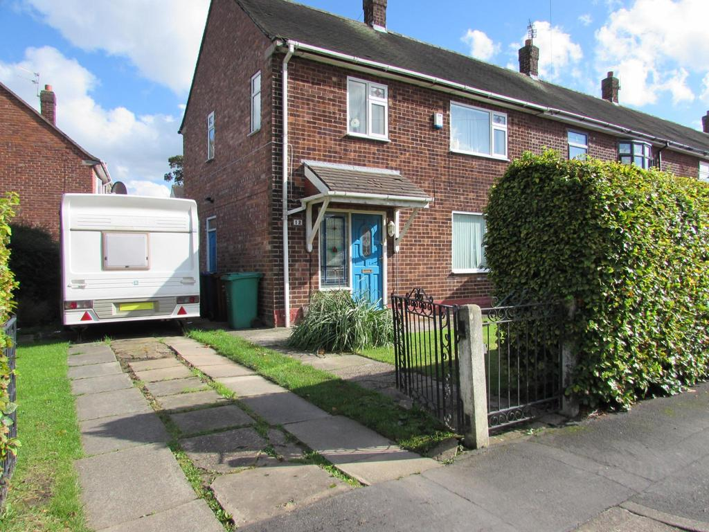 3 Bedrooms End Of Terrace House for sale in Stoneacre Road, Manchester, M22