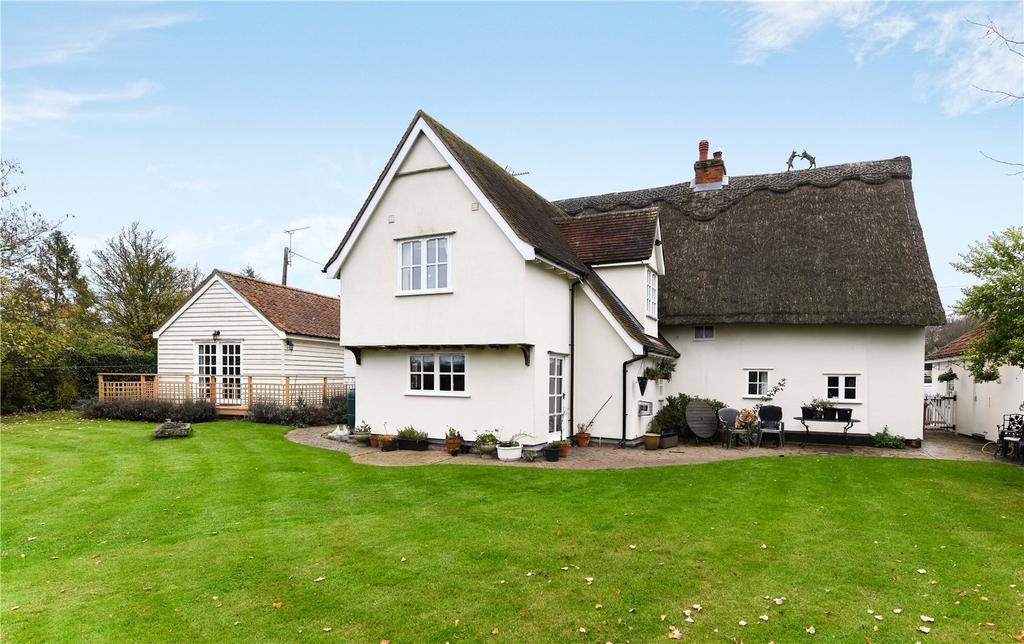 5 Bedrooms Detached House for sale in Kettlebaston, Ipswich, Suffolk