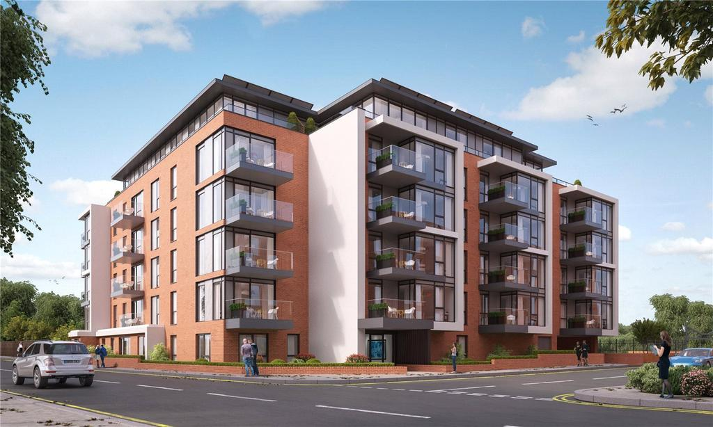 2 Bedrooms Penthouse Flat for sale in Marsham House, Station Road, Gerrards Cross, Buckinghamshire