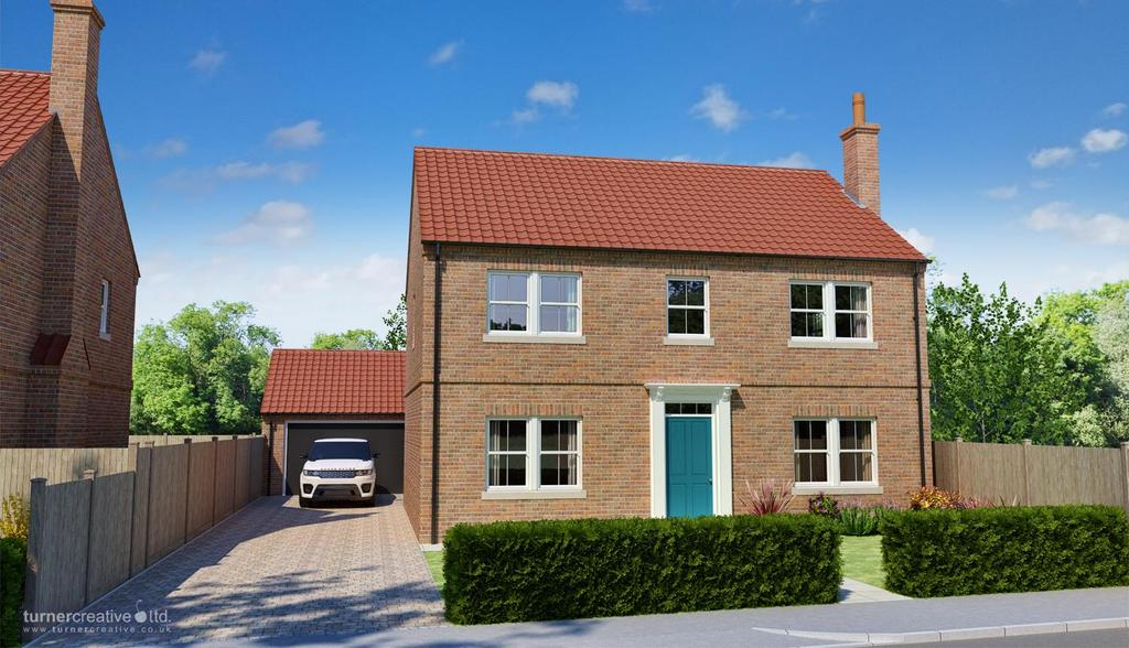 4 Bedrooms Detached House for sale in Trinity Close, The Village, Stockton on the Forest, York