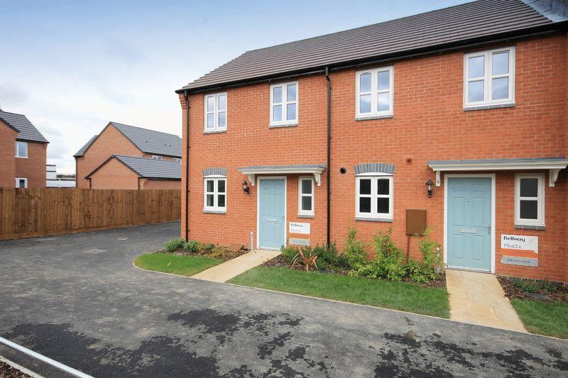 2 Bedrooms End Of Terrace House for sale in Rewley Court, Derby