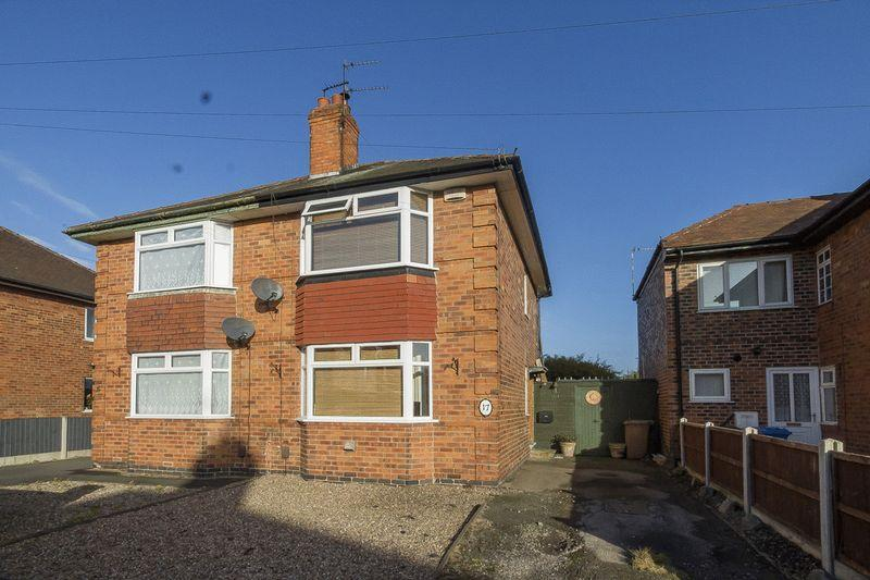 2 Bedrooms Semi Detached House for sale in Waldorf Avenue, Derby