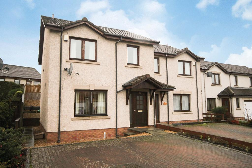 3 Bedrooms Semi Detached House for sale in Honeyberry Crescent , Blairgowrie , Perthshire , PH10 7RD