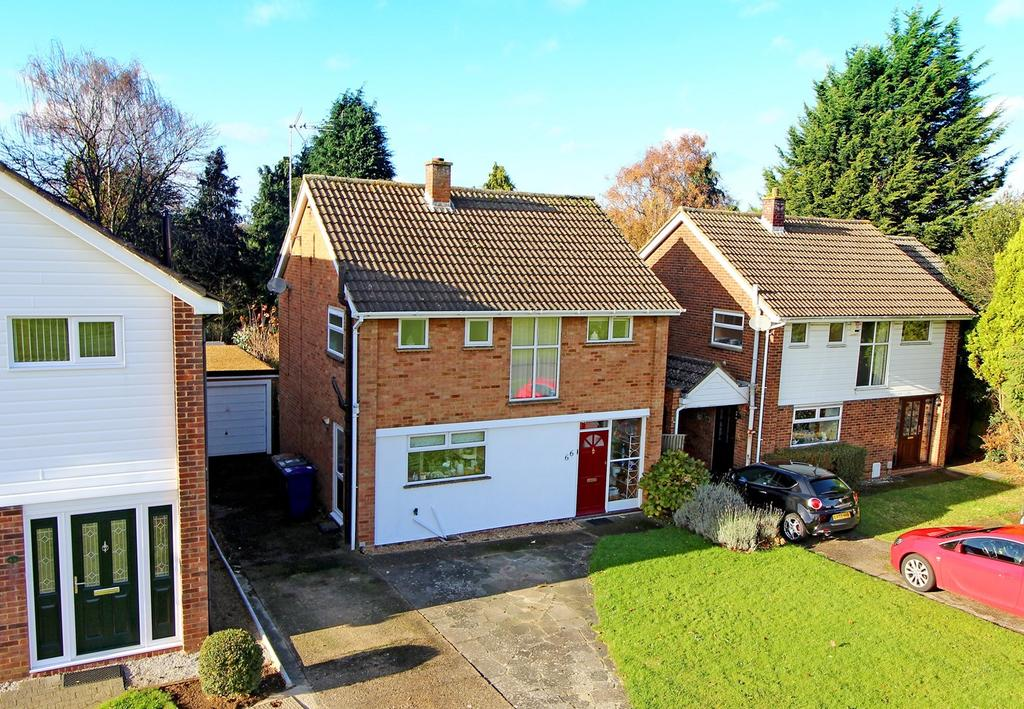 3 Bedrooms Detached House for sale in Waysbrook, Letchworth Garden City, SG6