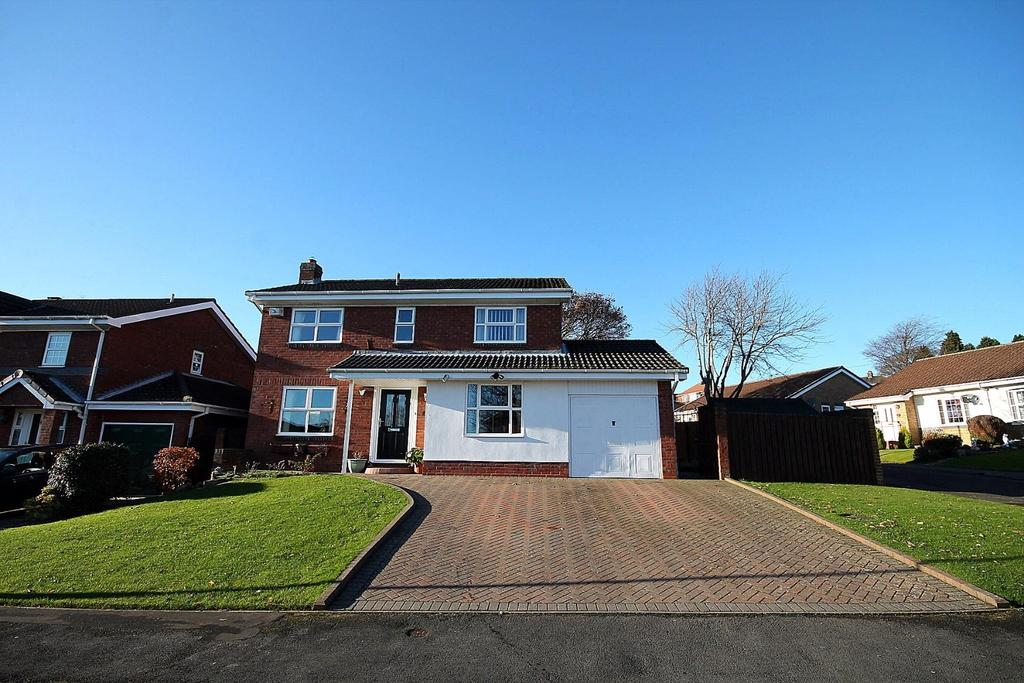 4 Bedrooms Detached House for sale in Austen Way, Crook